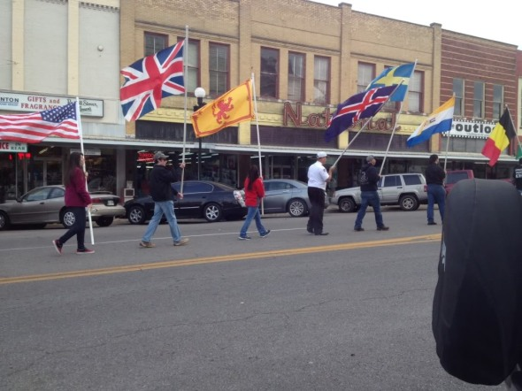 Last year's cavalcade of other white people's flags